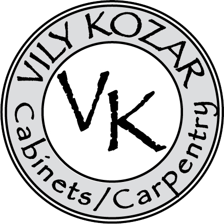 Vily Kozar Logo. FULL SERVICE CABINETRY AND MILL WORK SPECIALIST